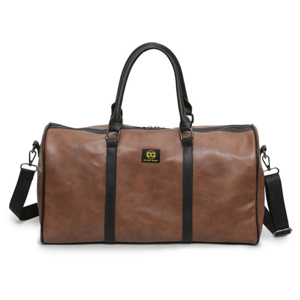 989cb037aa5e Dapper Dashy Soft Travel And Gym Leather Duffle Bag 40L ...