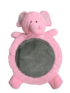 8246cc7fa394 Dapper Kids Luxury Elephant Baby Play Mat - Pink - Dapper Dashy London